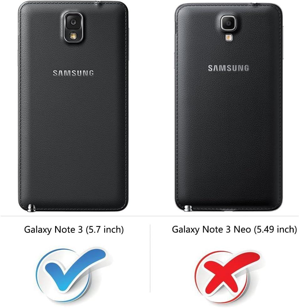 COODIO Funda Samsung Galaxy Note 3 con Tapa, Funda Movil Samsung ...
