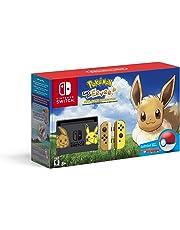 Consola Nintendo Switch + Pokémon Let's Go, Eevee! Edition