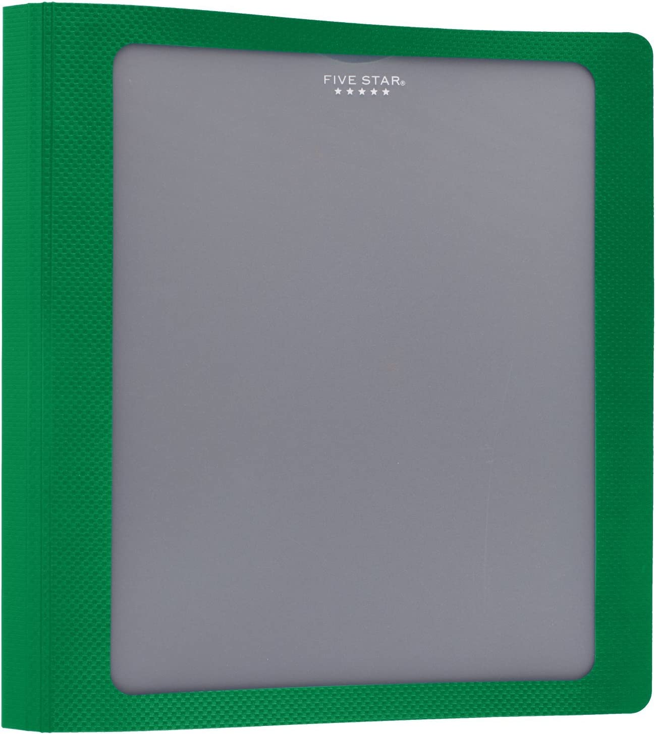 View Binder Five Star 1 Inch 3 Ring Binder Customizable Cover Blue 73356