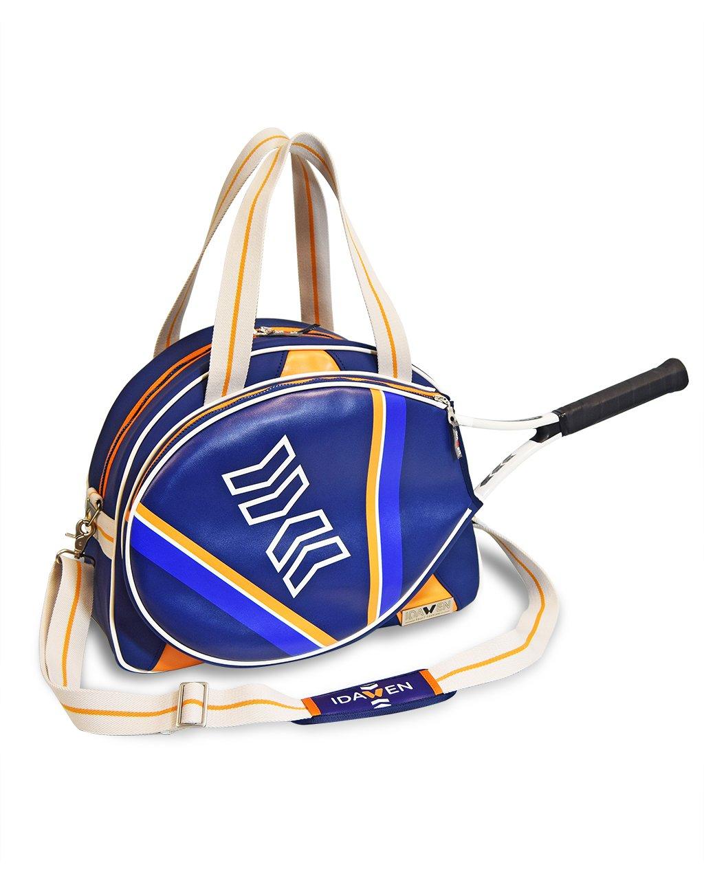 idawen Designerテニスバッグプレミアムmaterials – テニスのパッド入りの裏地とその他のスポーツRacquets – Holdsアスレチックシューズ、スポーツウェア、およびその他のジムアイテム B06ZXS698D  Bocce Sporty Tennis