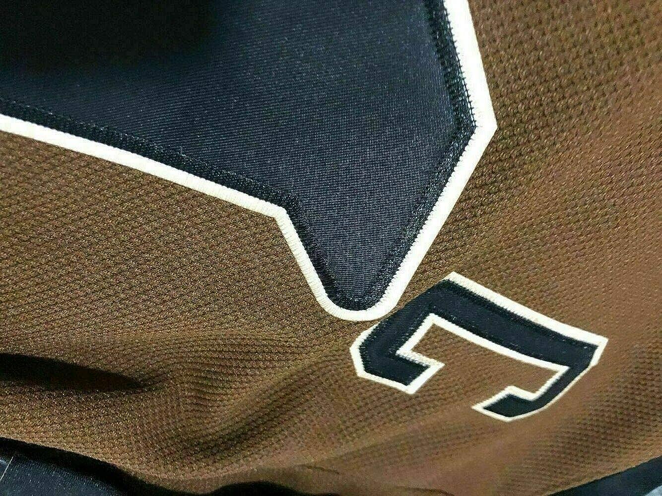 Mens #10 John Biebe Mystery Alaska Movie Ice Hockey Jersey Stitched
