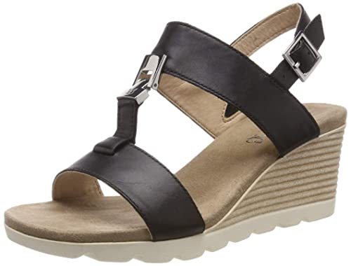 87bbb5673a09c CAPRICE Women's Elena Ankle Strap Sandals