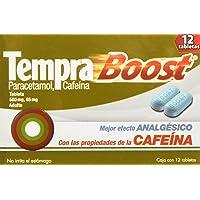 Tempra Tabletas Boost, 12 Piezas