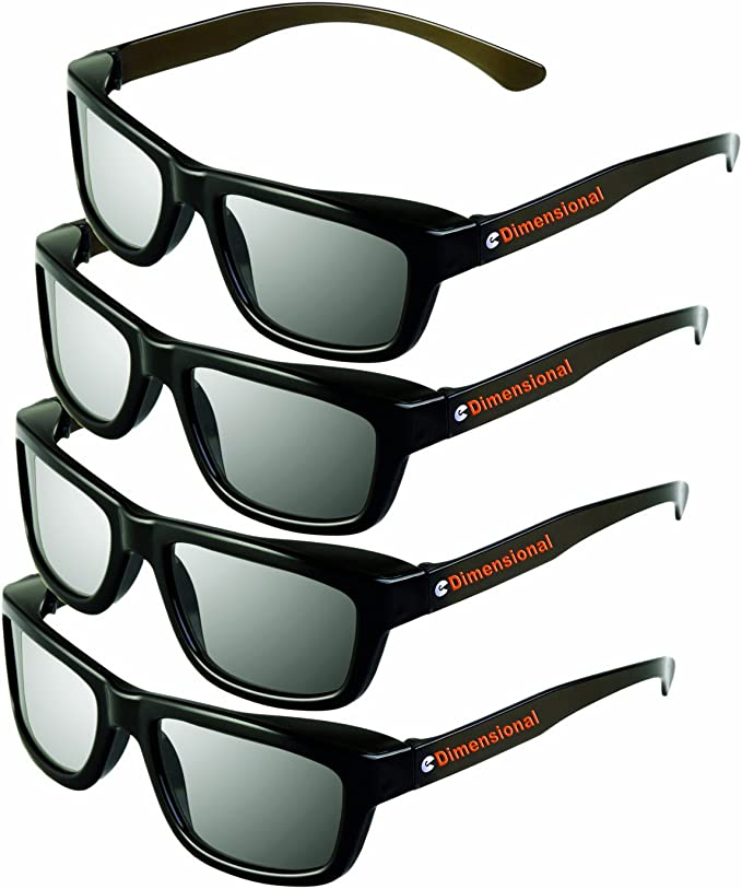 Easy 3D de Philips Grundig y RealD cines NUEVO de la marca PRECORN Universal gafas 3D pasivas gafas 3D negro para LG Cinema 3D Toschiba Panasonic