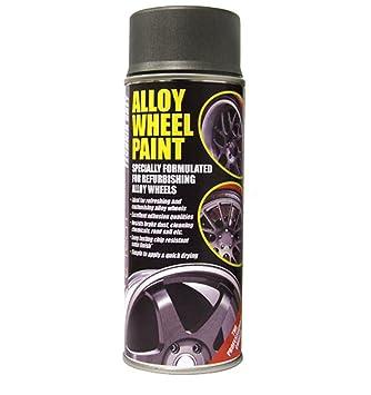 Auto Inpart - Pintura Resistente e-Tech para Llantas de aleación de Color Gris technik Antracita: Amazon.es: Coche y moto