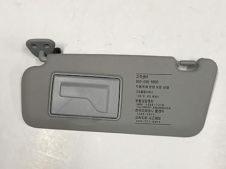 Amazon.com  Automotiveapple Genuine 852012L020TX Driver LH Sun Visor ... 4ff65afe37e