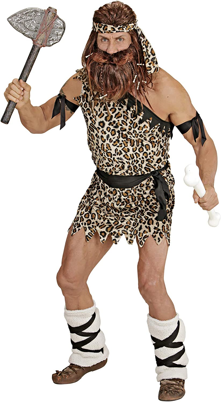 Costume da Uomo delle Caverne Caveman Taglia S