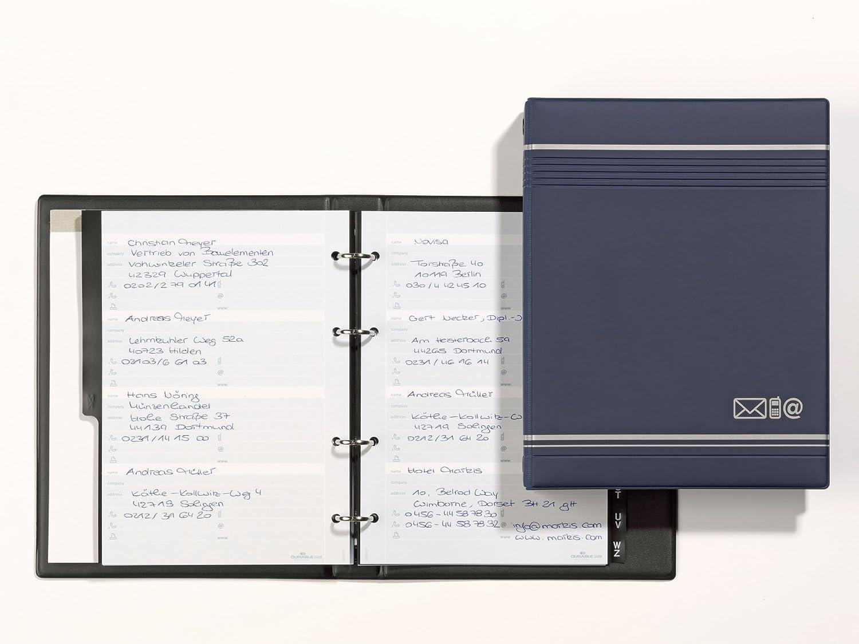 Durable Telindex A5 - Agenda telefónica A5, color azul, 200 entradas
