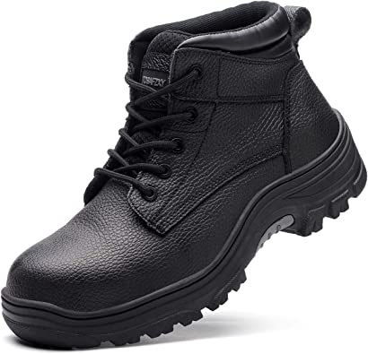 TOSAFZXY Work Boots Indestructible