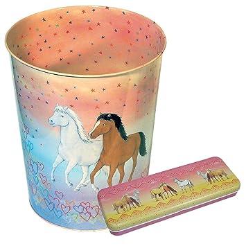 Kinderzimmer Set Pferde Bestehend Aus Papierkorb