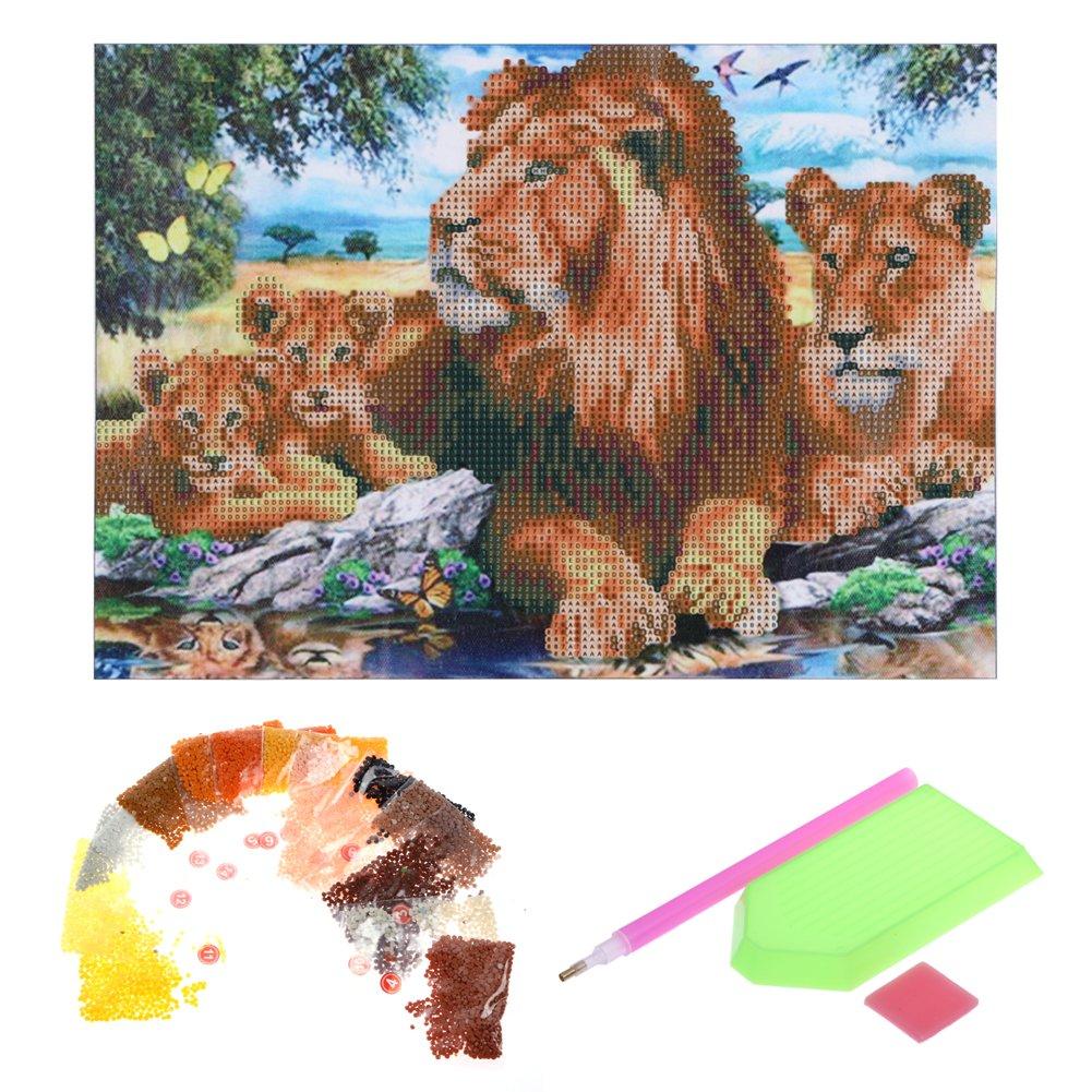 broadroot Beauty Animal 5D Diamant DIY Malerei Craft Kit