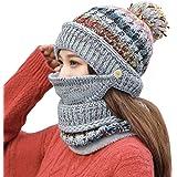 ガールズ ニット ハンチング帽 女性の冬暖かいニット帽に乗る耳元の帽子