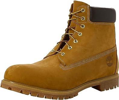 Municipios Al por menor Enfermedad infecciosa  Amazon.com | Timberland 6 Inch Premium Men's Boots Wheat Nubuck tb010061 |  Work & Safety
