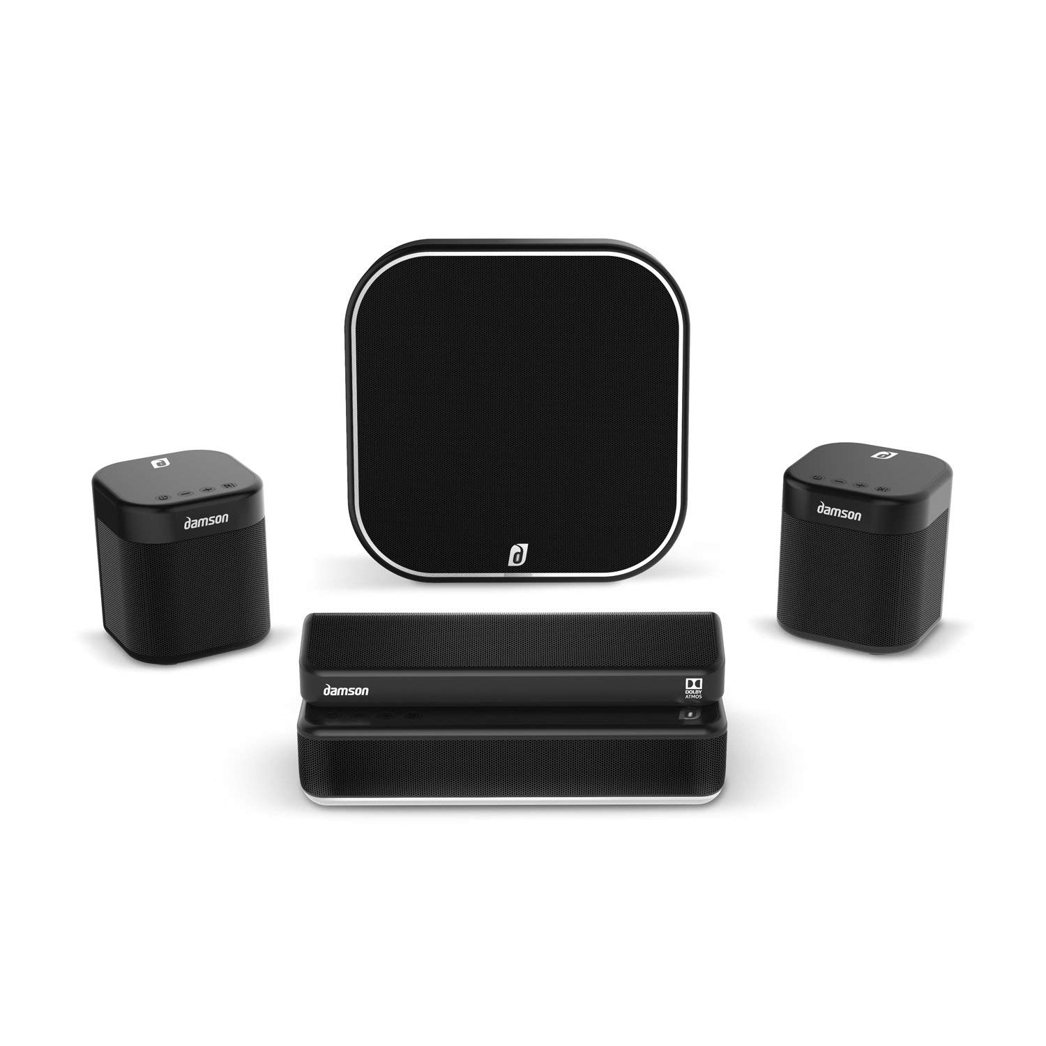 Damson S-Series - Dolby Atmos Wireless Home Entertainment System - Great  for Movies, Boxsets, TV, Gaming, and Music