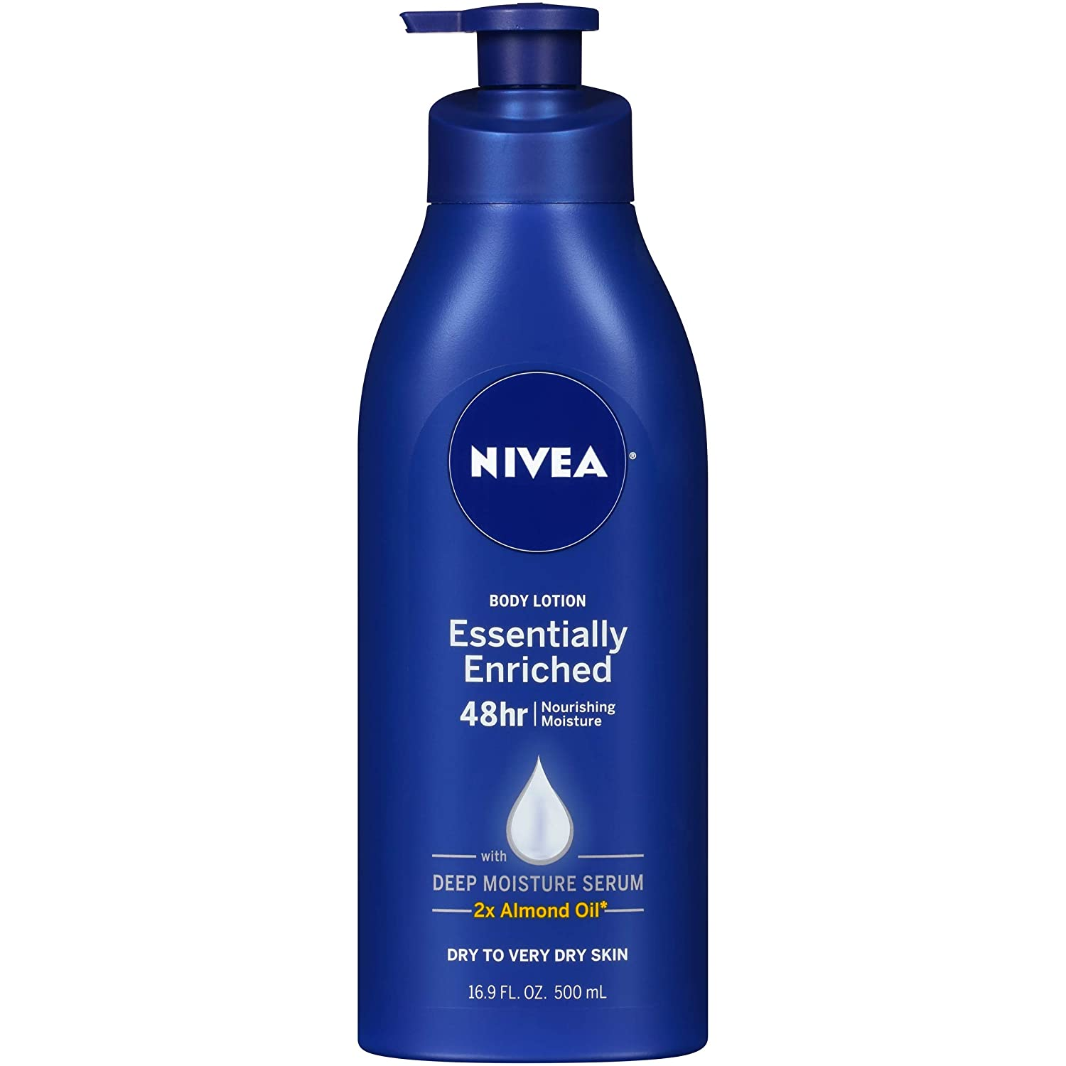 NIVEA Essentially Enriched Body Lotion 16.9 Fluid Ounce 072140011505