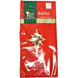 """500ct Gold Tinsel Icicle Strand Christmas Decorations 18"""""""
