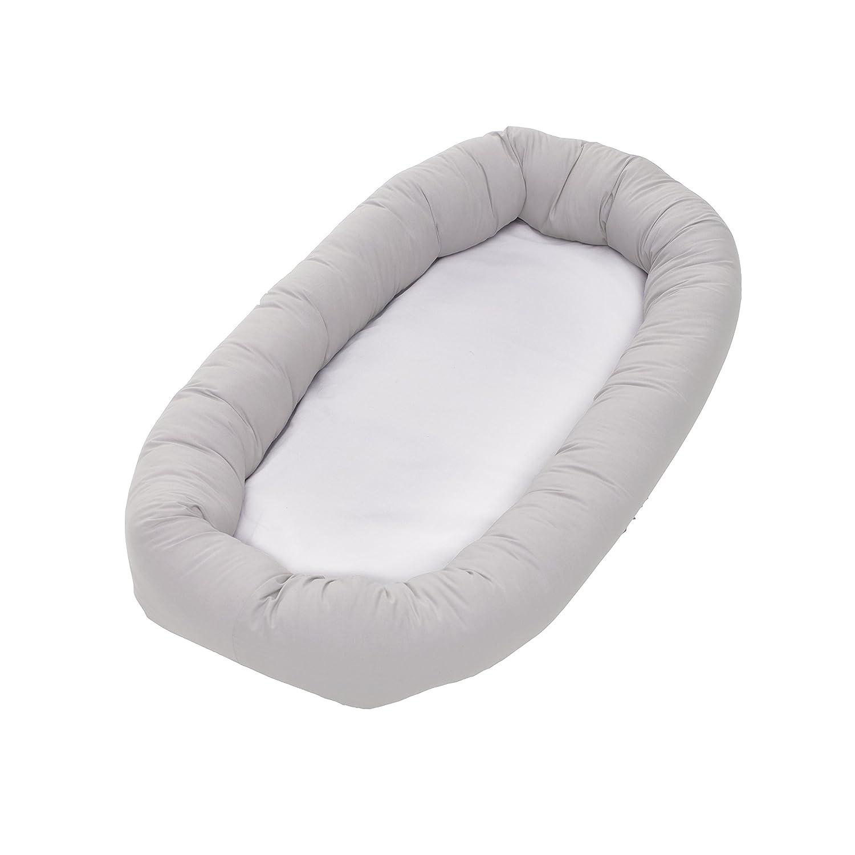 BabyDan Cuddle de nido de ángel Diminution de cama para bebé gris