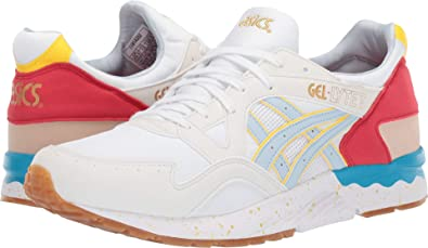 new product 301c3 3ed07 Amazon.com | ASICS Tiger Men's Gel-Lyte¿ V White/Sky 12 D US ...