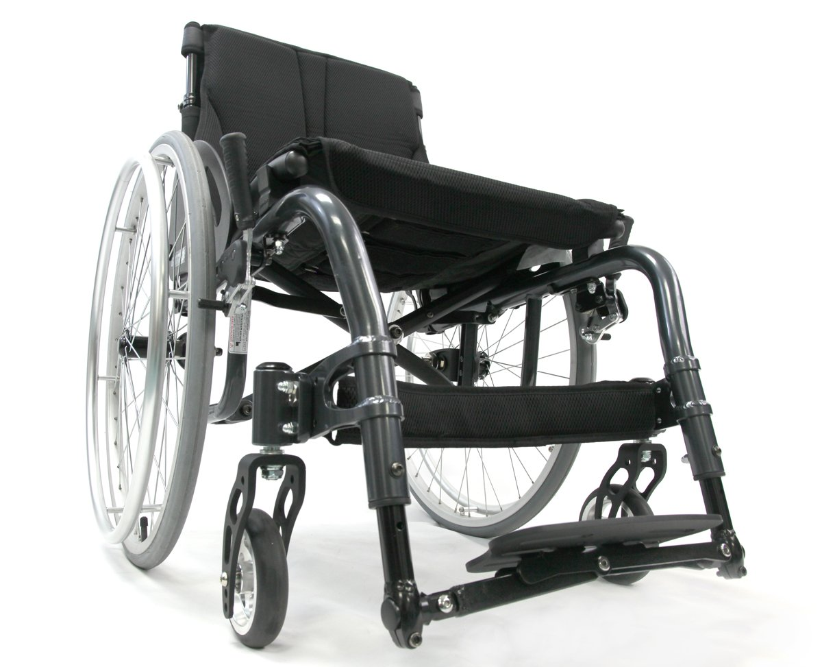 Karman Healthcare S-ATX-1818BK S-ergo ATX Active wheelchair 18''x18'' seat Diamond Black