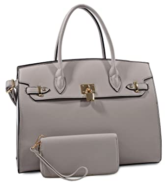 b486c0c49edf Amazon.com: New! Deluxity Large Carry-all Padlock Accent Structured ...