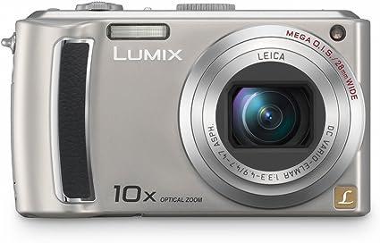 Panasonic Dmc Tz4eg S Digitalkamera 2 5 Zoll Silber Kamera