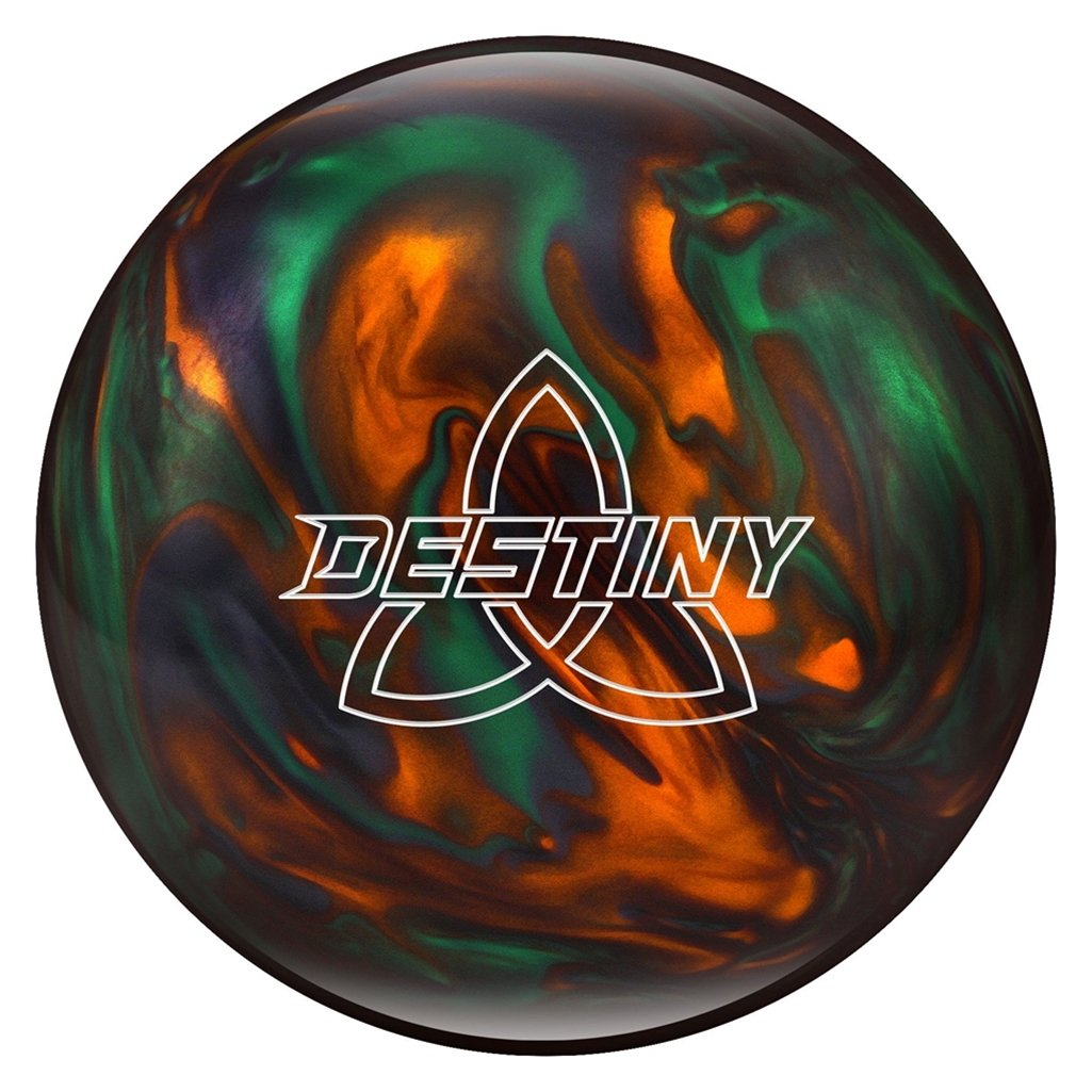 Ebonite Destinyパールpre-drilled Bowling ball-グリーン/オレンジ/煙 B07F2L3P1F  12lbs