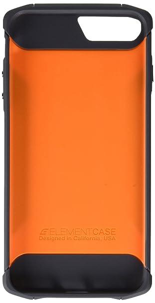 san francisco 7c112 7b2a1 Element Case CFX Mil-Spec Drop Tested Case for Apple iPhone 7 Plus / iPhone  8 Plus - Orange (EMT-322-131EZ-22)
