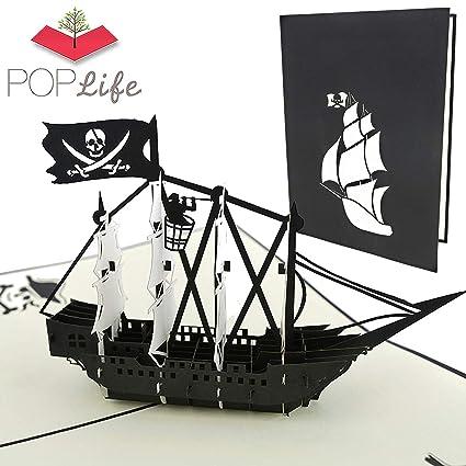 PopLife Cards Tarjeta del popup del barco del día del padre ...