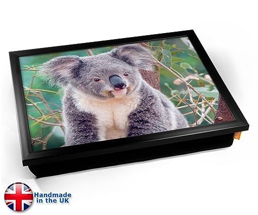 Koala - Bandeja de cojín, Black Frame, 45cm (l) x 35cm (w) x ...