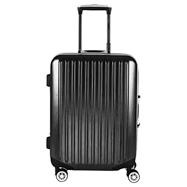 Amazon.com | Viagdo Luggage Carry-On Luggage HardSide Suitcases ...