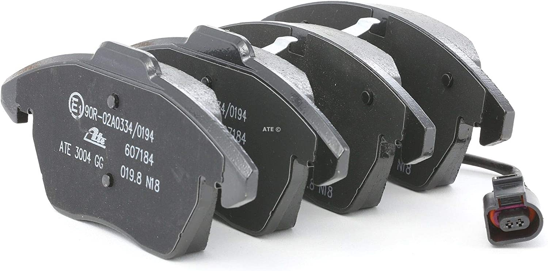 Front Brake Pads From Ate 13 0460 7184 2 Brake Pad Set Brake System Disc Brake Pad Set Brake Pads Brake Pads Auto