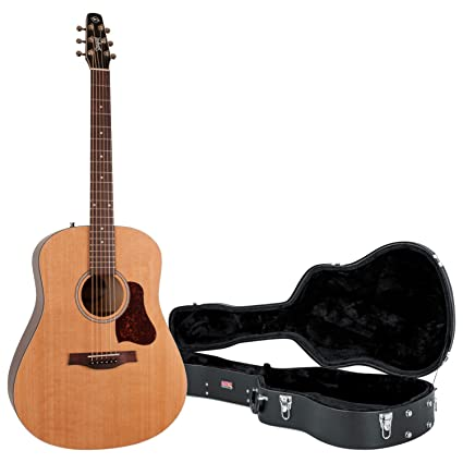 1e7cfe9c07 Amazon.com: Seagull 046386 S6 Original New 2018 Model Acoustic Guitar w/Hard  Case: Musical Instruments