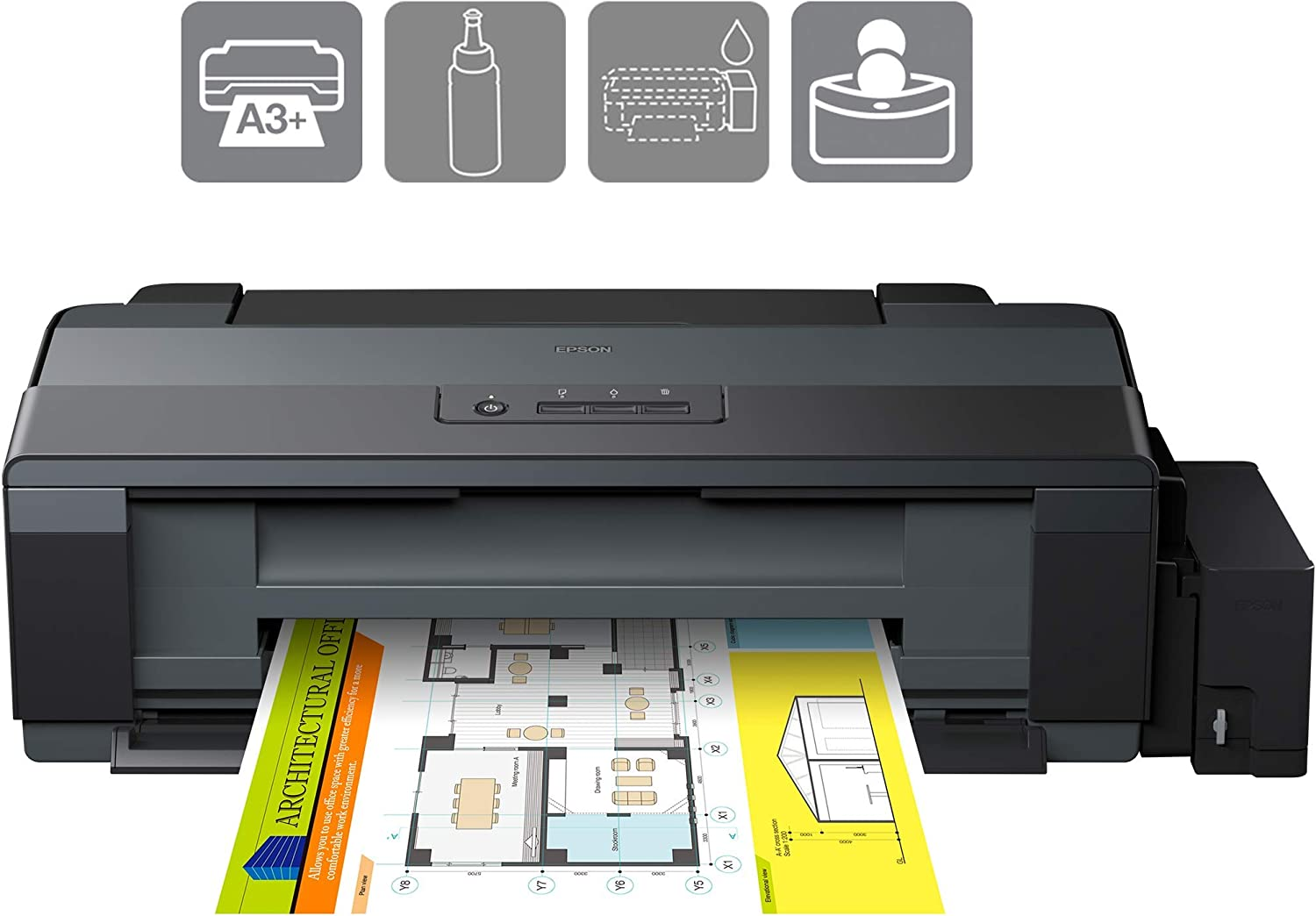 Amazon.com: Epson EcoTank ET-14000 Color 5760 x 1440dpi A3 ...