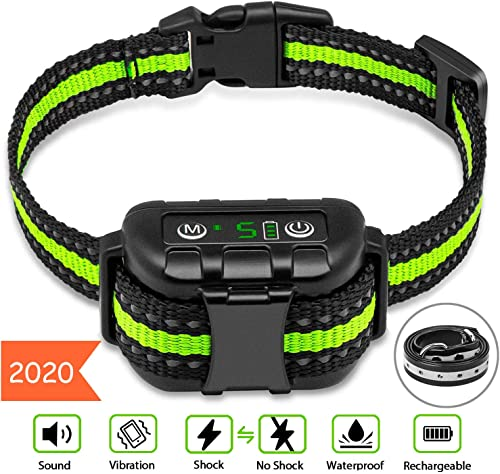 Rechargeable-Anti-bark-Collar-with-Adjustable-Sensitivity