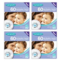 Lansinoh Disposable Nursing Breast Pads (4 x 60 Piece Packs)