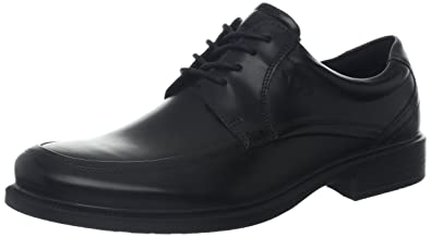 ECCO Men's Dublin Apron Toe Tie Oxford,Black,45 EU/11-11.5