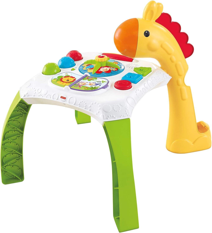 Fisher-Price - Mesa de actividades jirafita Juguetes bebés +6 ...