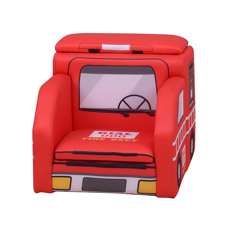 Liberty House Toys Sf-204-f Fire Engine Canapé avec Rangement
