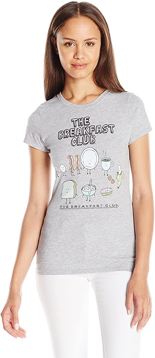 American Classics Juniors the Breakfast Club Food Graphic Tee