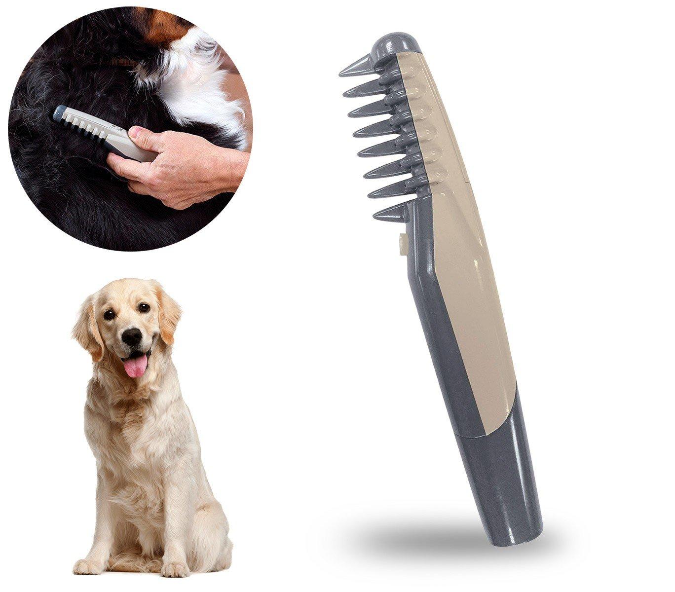 045763 Peigne électrique taille et démêle les noeuds pour chats et chiens MEDIA WAVE store ®