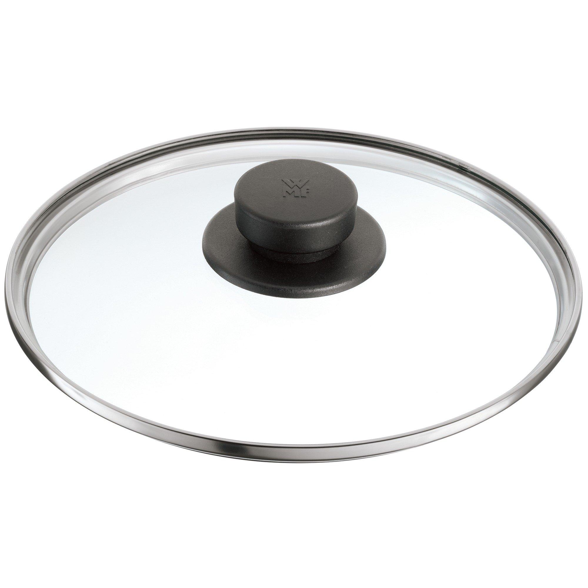 WMF Plus, Pro Tapa de Cristal con pomo sintético, Negro, 22 cm product