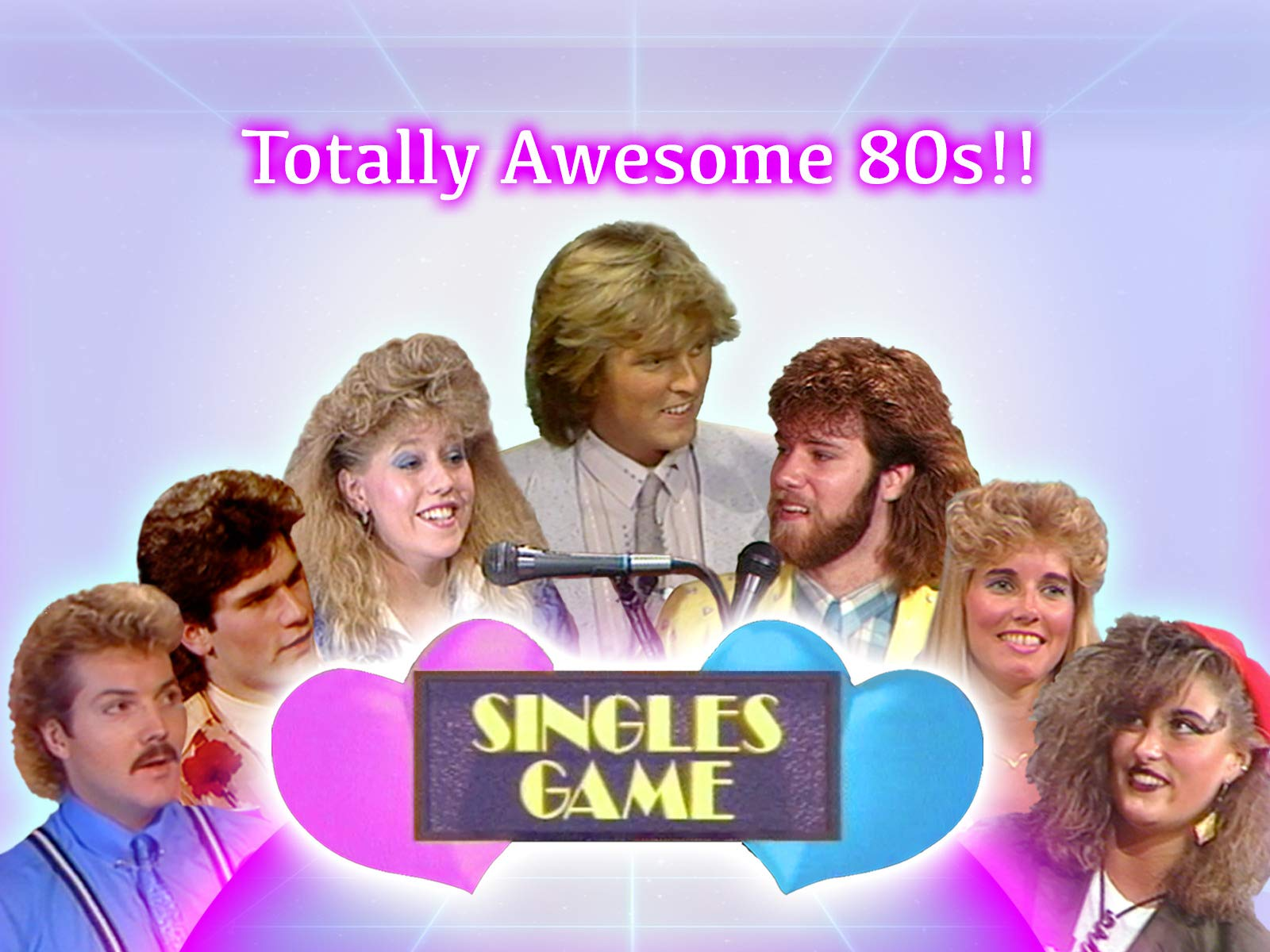 Totally Awesome 80s!! Singles Game