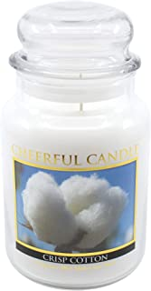 product image for A Cheerful Giver Crisp Cotton Jar Candle, 24-Ounce