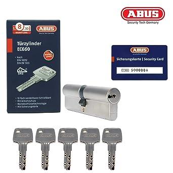 40//40 Abus EC660 Profilzylinder Schließzylinder Knaufzylinder viele Schlüssel