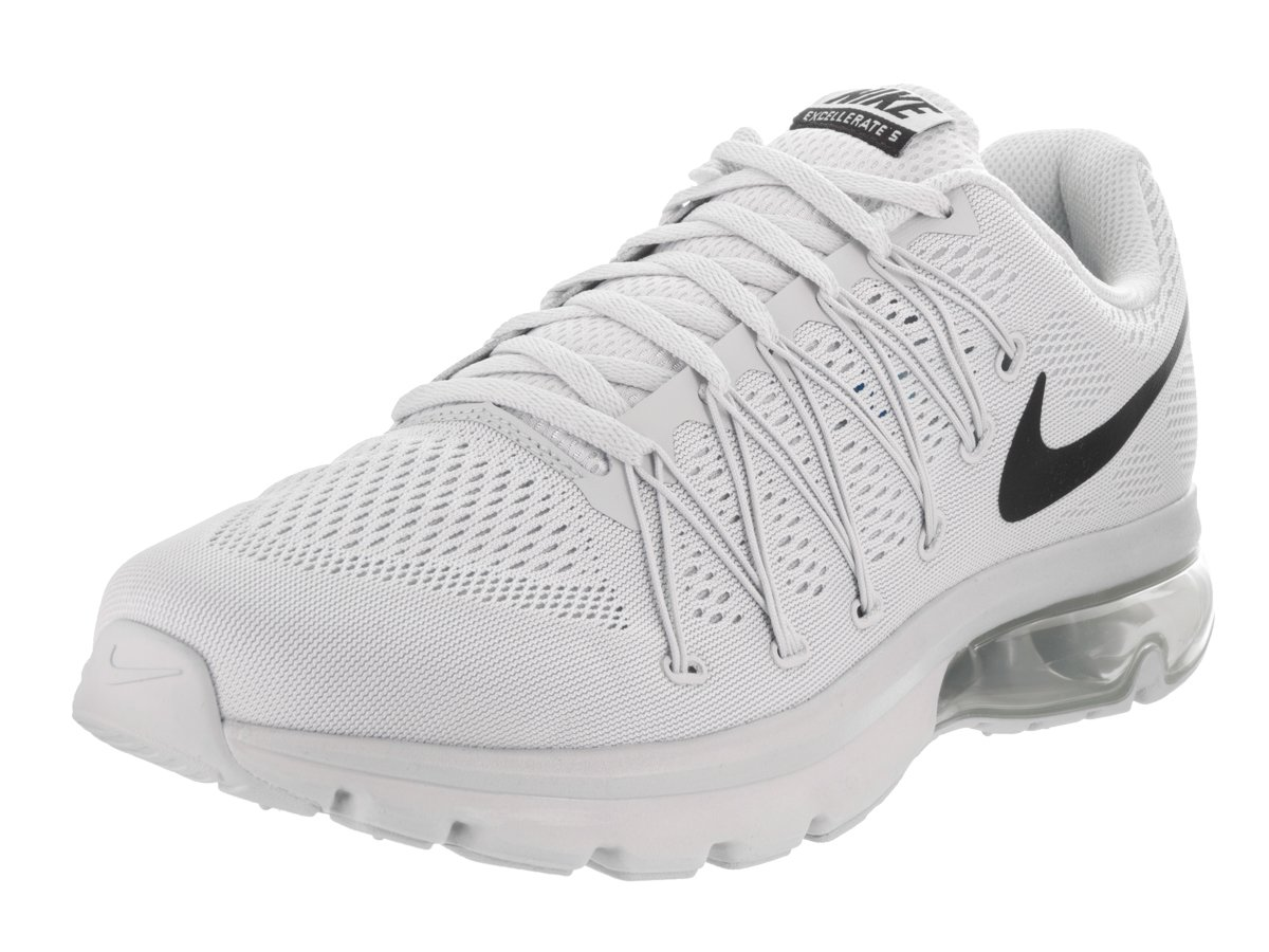sneakers for cheap ea37a 0e559 Nike Men's Air Max Excellerate 5 Running Shoe (9.5, Pure Platinum/Black)