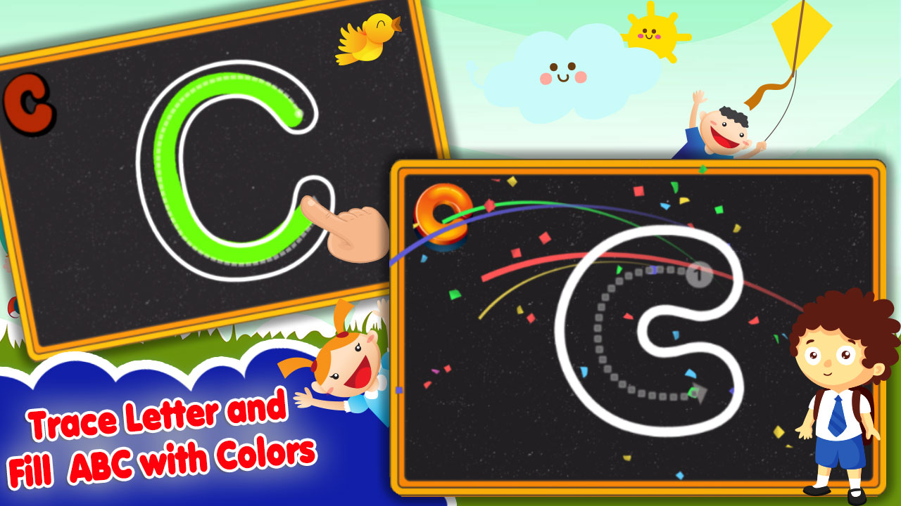 Abc 123 Tracing For Toddlers Learn Alphabet Letters And