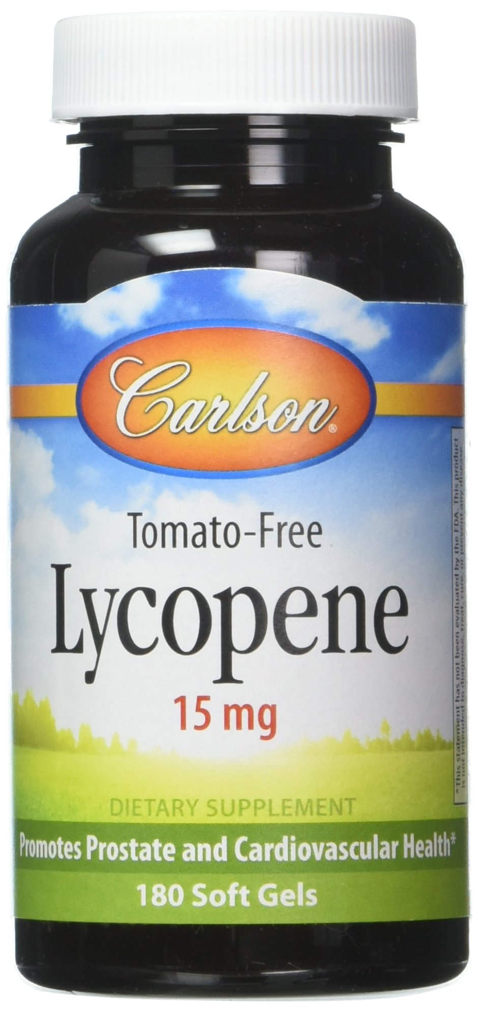 Carlson Labs Lycopene 15mg Softgels, 180 Count