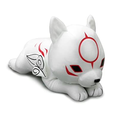 "Great Eastern GE-52646 Okami-Den 19"" Chibiterasu Lying Down Stuffed Plush: Toys & Games"