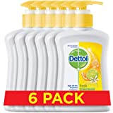 Dettol Fresh Hand Wash - Pack of 6 Pcs (6 x 200ml)