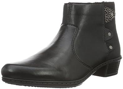 Rieker y0723 noir - Chaussures Bottine Femme